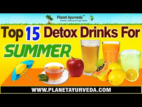 Top 15 Detox Drinks for Summer