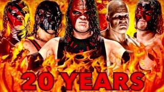 WWE KANE   20th Anniversary   TRIBUTE 1997-2017  