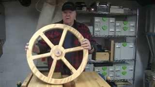 Making Cartwheels  With Festool