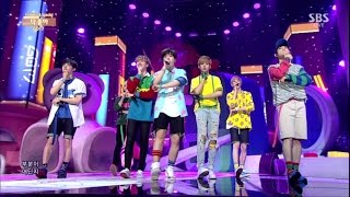 "getlinkyoutube.com-GOT7 ""Intro"" & ""딱 좋아(Just right)"" Comeback Stage @ SBS Inkigayo 2015.07.19"