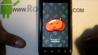 getlinkyoutube.com-Droid Razr Maxx XT912 CM10.2 Android 4.3 rom