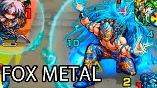 getlinkyoutube.com-[Monster Strike] The Masked Vulpine Wrestler - Fox Metal (Extreme)