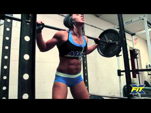 FEMALE PRO BODYBUILDER TAKES ON CrossFit - Dana Linn Bailey