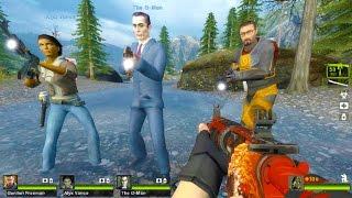 getlinkyoutube.com-Left 4 Dead 2 - Half-Life 2: White Forest Custom Campaign Gameplay Walkthrough