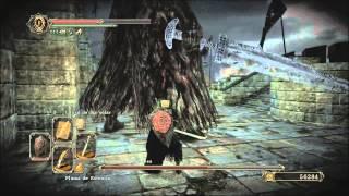 getlinkyoutube.com-Dark souls 2: jefe Señor de los gigantes +7 ascuas, sólo melee, sin estus, ni escudo