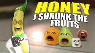 getlinkyoutube.com-Annoying Orange - Honey I Shrunk The Fruits