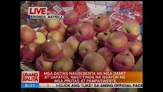 UB: Mga dating nagbebenta ng mga damit at sapatos, nagtitinda na ngayon ng mga prutas at pampaswerte