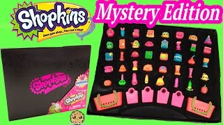 getlinkyoutube.com-40 Shopkins Target Exclusive Mystery Edition Black Box - Reveal Video Cookieswirlc