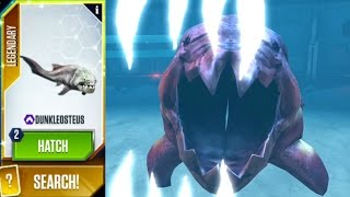 getlinkyoutube.com-Dunkleosteus Maxed - Jurassic World The Game - Aqua Update