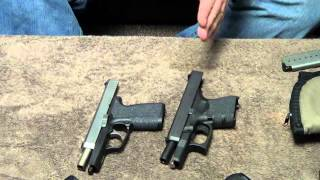 getlinkyoutube.com-Glock 26 vs Kahr CW9: Size & Feature Comparison