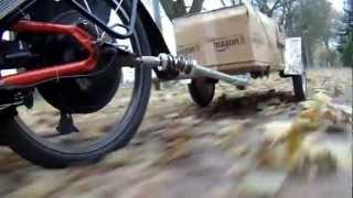 getlinkyoutube.com-Towing a trailer with a recumbent trike