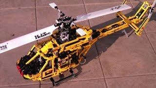 getlinkyoutube.com-LEGO - motorized helicopter BK-117