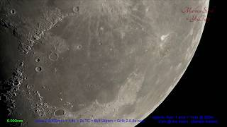 getlinkyoutube.com-Moon, 300x zooming in! 4K, UHD , Leica Apo-Telyt, up to 15 000mm