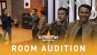 Wow! Hardi Nyanyi Bareng Ariel Dan Judika! | Room Audition 1 | Rising Star Indonesia 2016