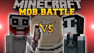 getlinkyoutube.com-Jeff The Killer Vs. Jane The Killer - Minecraft Mob Battles - Arena Battle - Creepy Pasta Mod