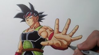 getlinkyoutube.com-Drawing Bardock - Father of Goku