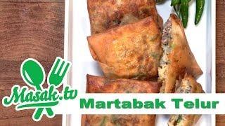 getlinkyoutube.com-Martabak Telur | Jajanan #038
