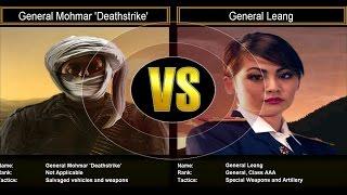 Shockwave Challenge Mode: General Mohmar Deathstrike VS General Leang