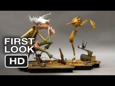 First Look - Pinnochio (2014) Guillermo Del Toro Movie HD