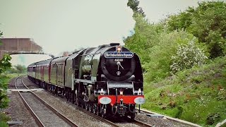 "getlinkyoutube.com-46233 ""Duchess of Sutherland"" - The Oxfordshire Express 23.05.2015"