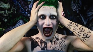 getlinkyoutube.com-Jared Leto Joker Makeup Tutorial   Themed Injection