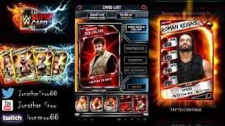getlinkyoutube.com-WWE Supercard Season 2 #9 Suvivor Kotr Reward/ RTG Pro'ing Roman Reigns