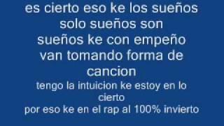 Sueños - rapper school [letra] width=