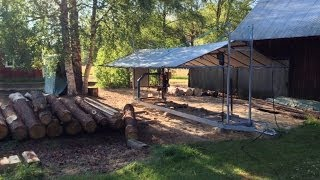 SNIK chainsaw mill video 2