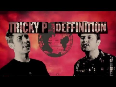 KOTD - Rap Compliment Battle - Tricky P vs Deffinition *WD2* (HILARIOUS)
