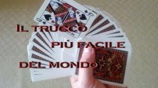 Tutorial il Trucco più semplice del mondo - magia con le carte - illusionismo crazy funny things 5