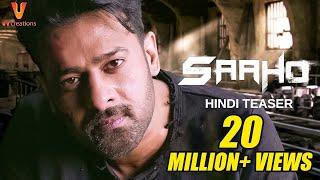 Saaho - Official Hindi Teaser   Prabhas, Sujeeth   UV Creations
