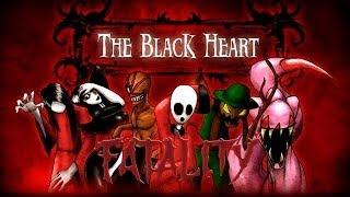 getlinkyoutube.com-The black heart all fatals/El corazon negro todos los fatalities o fatals