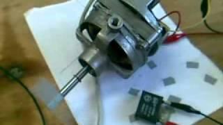 getlinkyoutube.com-Motor monofásico de un ventilador de pie - Conexiones