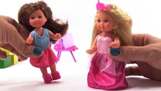 getlinkyoutube.com-Мультфильм для девочек про кукол. Видео про Принцесс. Принцесса Эви. Куклы для девочек.