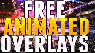 Free Esports Animated Overlay Pack (Customizable)