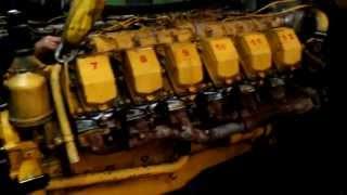 getlinkyoutube.com-Запуск РОССИЙСКОГО дизеля ЯМЗ-8502 (V12 - 48 клапанов) после капремонта!