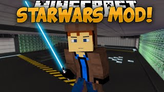 getlinkyoutube.com-Minecraft Mods | STAR WARS MOD!! | Lightsabers, The Force, & MORE! | Mod Showcase