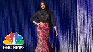Teen Becomes First Contestant To Wear Hijab In Miss Minnesota USA Pageant | NBC News