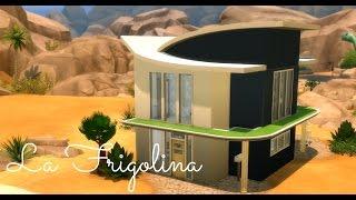 getlinkyoutube.com-Sims 4   House Build: La Frigolina - Modern Starter