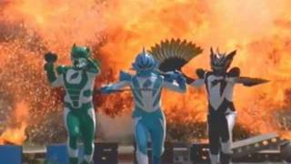 getlinkyoutube.com-Power Rangers Jungle Fury Best Moment