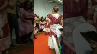Zambian (Lozi) Bridal Shower (Kitchen Party) in London