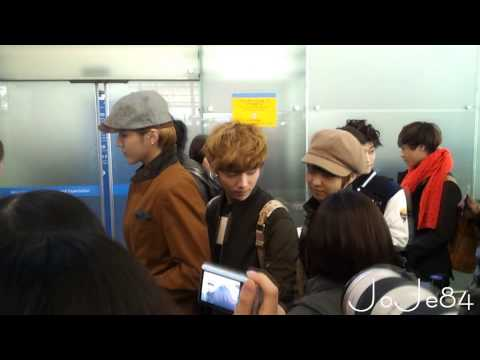 121101 INCHEON AIRPORT EXO-M LUHAN&amp;CHEN