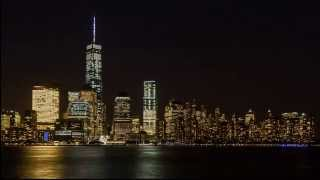 Stunning New York City skyline timelapse: Day to night