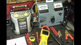 getlinkyoutube.com-Portable Car Battery Jump Starter Review / Tests - Part 1