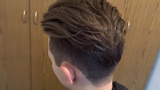 getlinkyoutube.com-Men's Haircut 2017 inspired MARIANO DI VAIO | Sexiest Male Model Disconnected Undercut