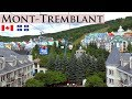 MONT-TREMBLANT │ CANADA - Summer day trip to the popular pedestrian village of Mont-Tremblant. HD.