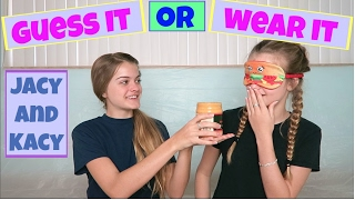 getlinkyoutube.com-Guess It or Wear It Challenge ~ Jacy and Kacy