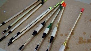 getlinkyoutube.com-Making Fishing Floats (bobbers) on  a Hand Cranked Lathe