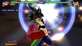 getlinkyoutube.com-Bardock SSJ4 VS Pan and Majin Vegeta SSJ4 (Dragon Ball Z Budokai Tenkaichi 3 mod)
