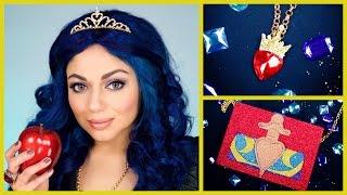getlinkyoutube.com-Disney Descendants – Evie DIY Costume Tutorial | Charisma Star